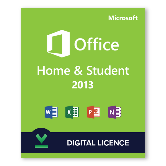 Microsoft Office Home and Student 2013 - download digital licence