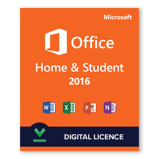 Microsoft Office Home and Student 2016 - download digital licence