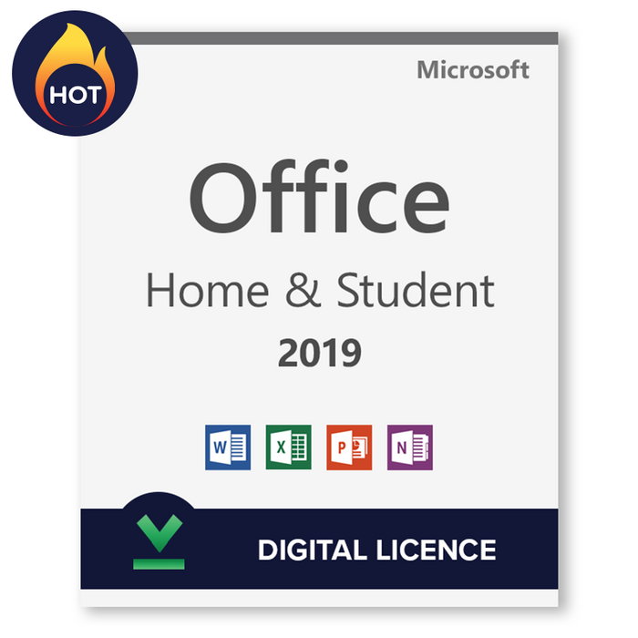 Microsoft Office 2019 Home and Student Transferable Digital Licence