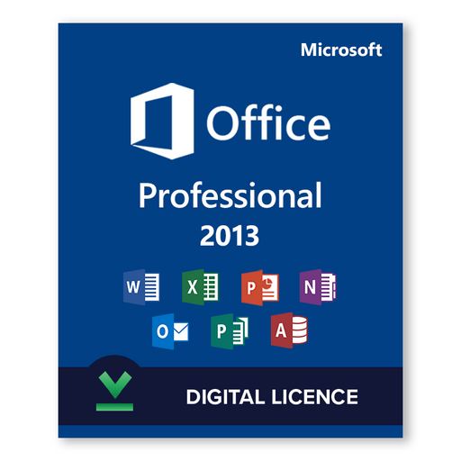 Microsoft Office Professional 2013 - download digital licence