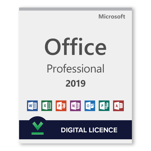 Microsoft Office Professional 2019 - download digital licence