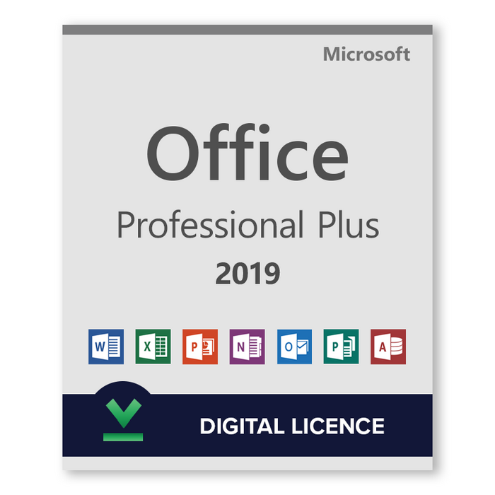 Microsoft Office Professional Plus 2019 - download digital licence