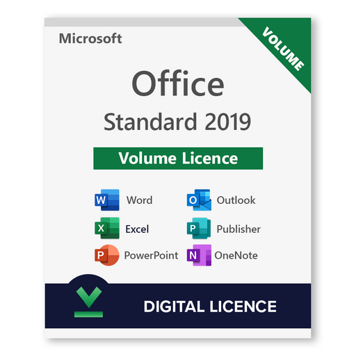 Microsoft Office 2019 Standard Volume Licence - Digital Licence