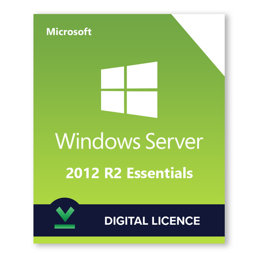 Microsoft Windows Server R2 2012 Essentials - Digital Licence