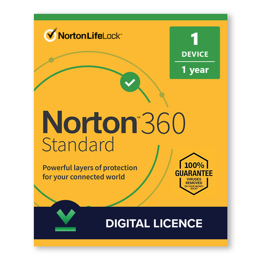Buy Norton 360 Standard 2020 1 Device 1 Year - Digital Licence