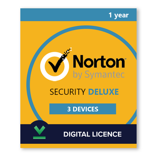 Norton Security Deluxe 3 Dispozitive  | 1 An - Licența electronică