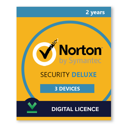 Norton Security Deluxe 3 Devices | 2 years - Digital Licence