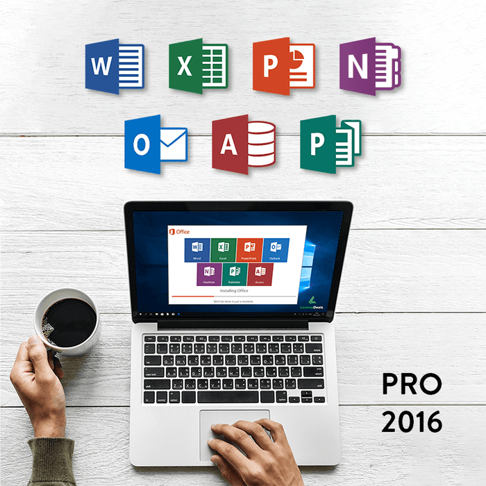 Microsoft Office 2016 Professional Digital Licence