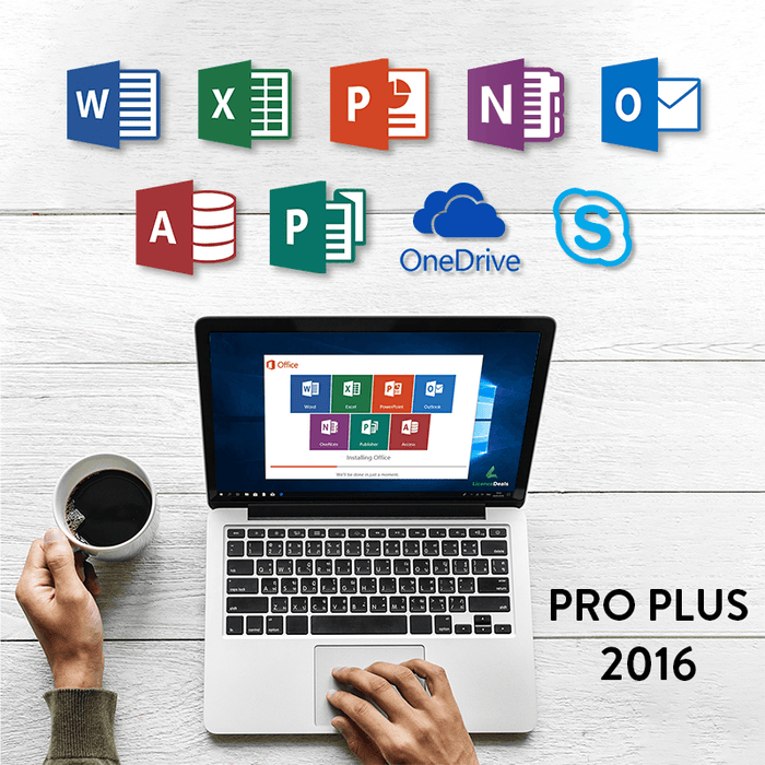 Microsoft Office 2016 Professional Plus Digital Licence