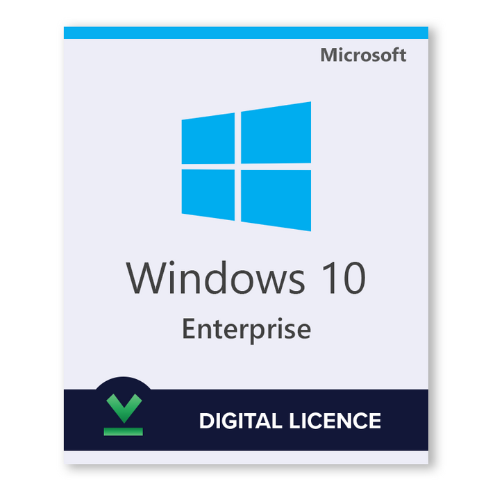 Windows 10 Enterprise 32bit 64bit download digital licence LicenceDeals