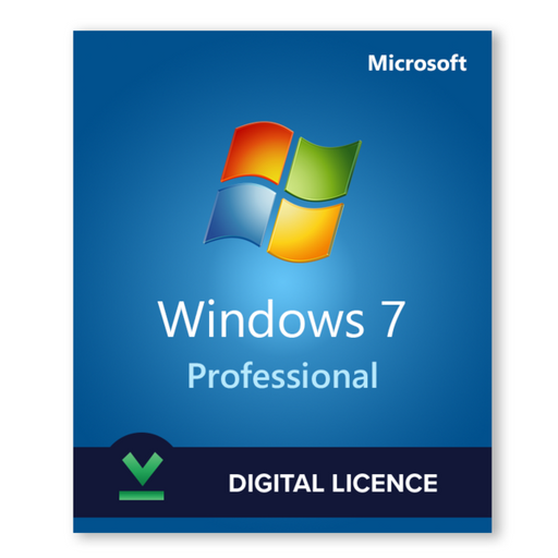 Windows 7 Professional - download digital licence