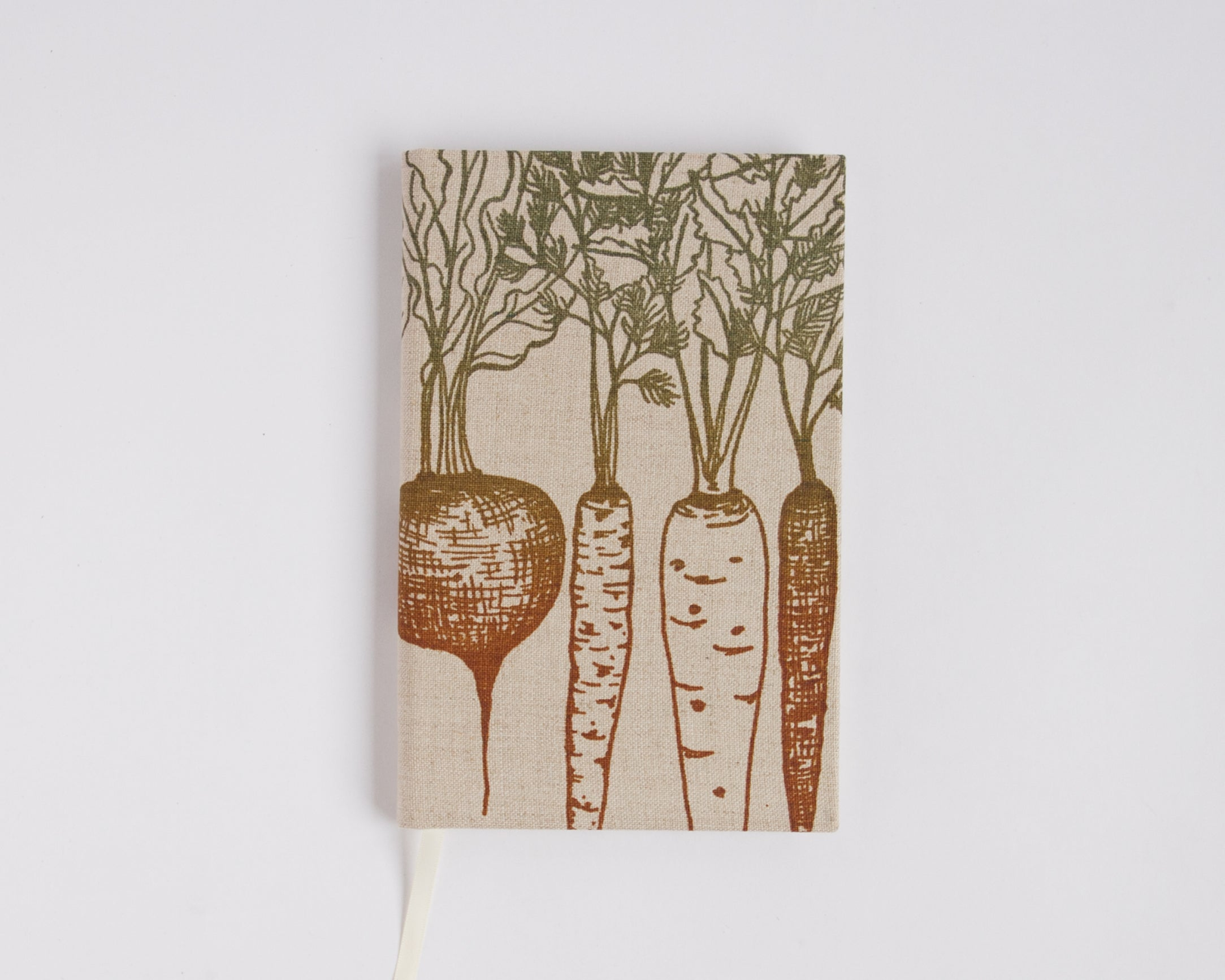 Journal with lined pages - Root Vegetables