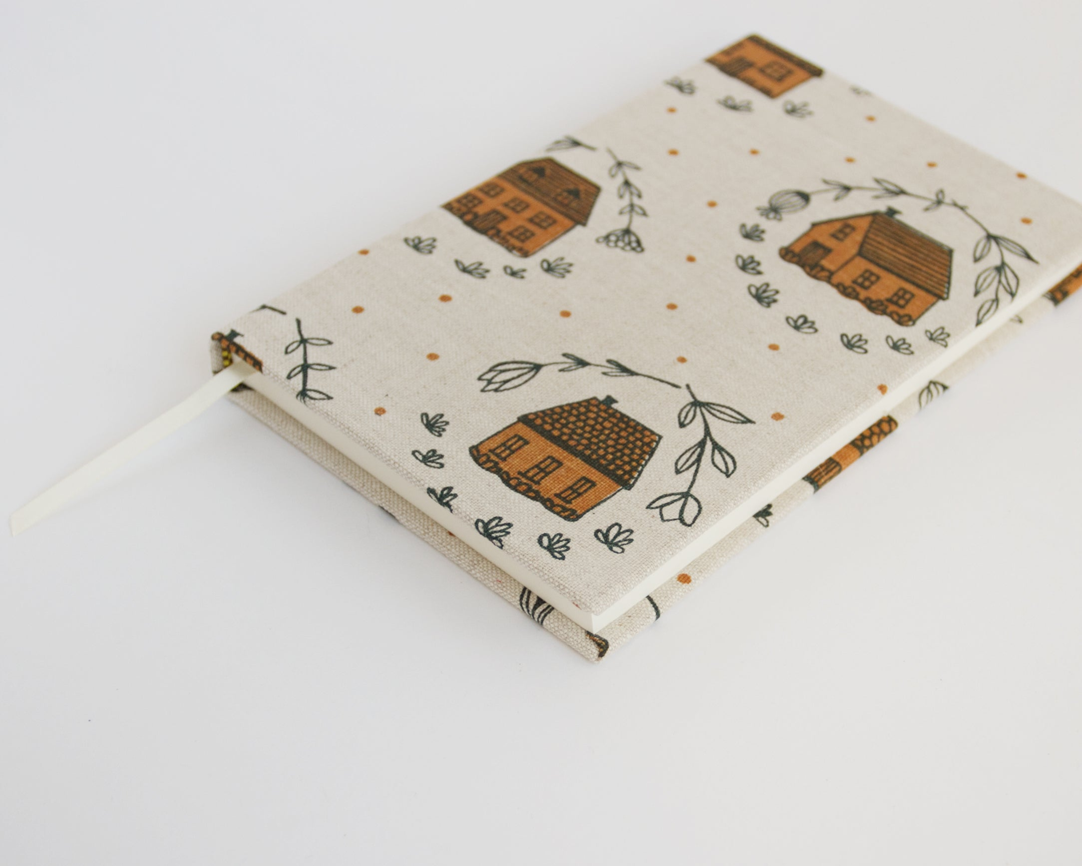 Journal with lined pages - Home - Coral