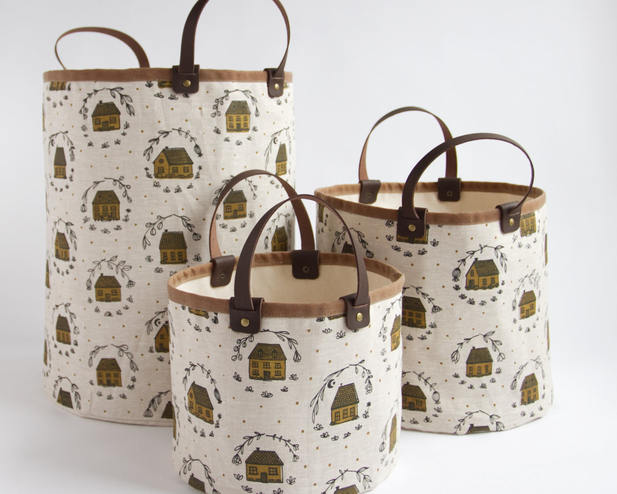 Medium Basket - Home - Mustard