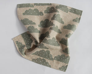 Set of Two Linen Napkins - Snow