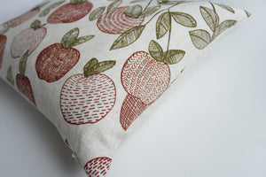 "Linen Pillow Cover - 12"" x 18"" - Orchard"