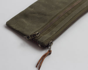 Small Double-Zipper Pouch - Home