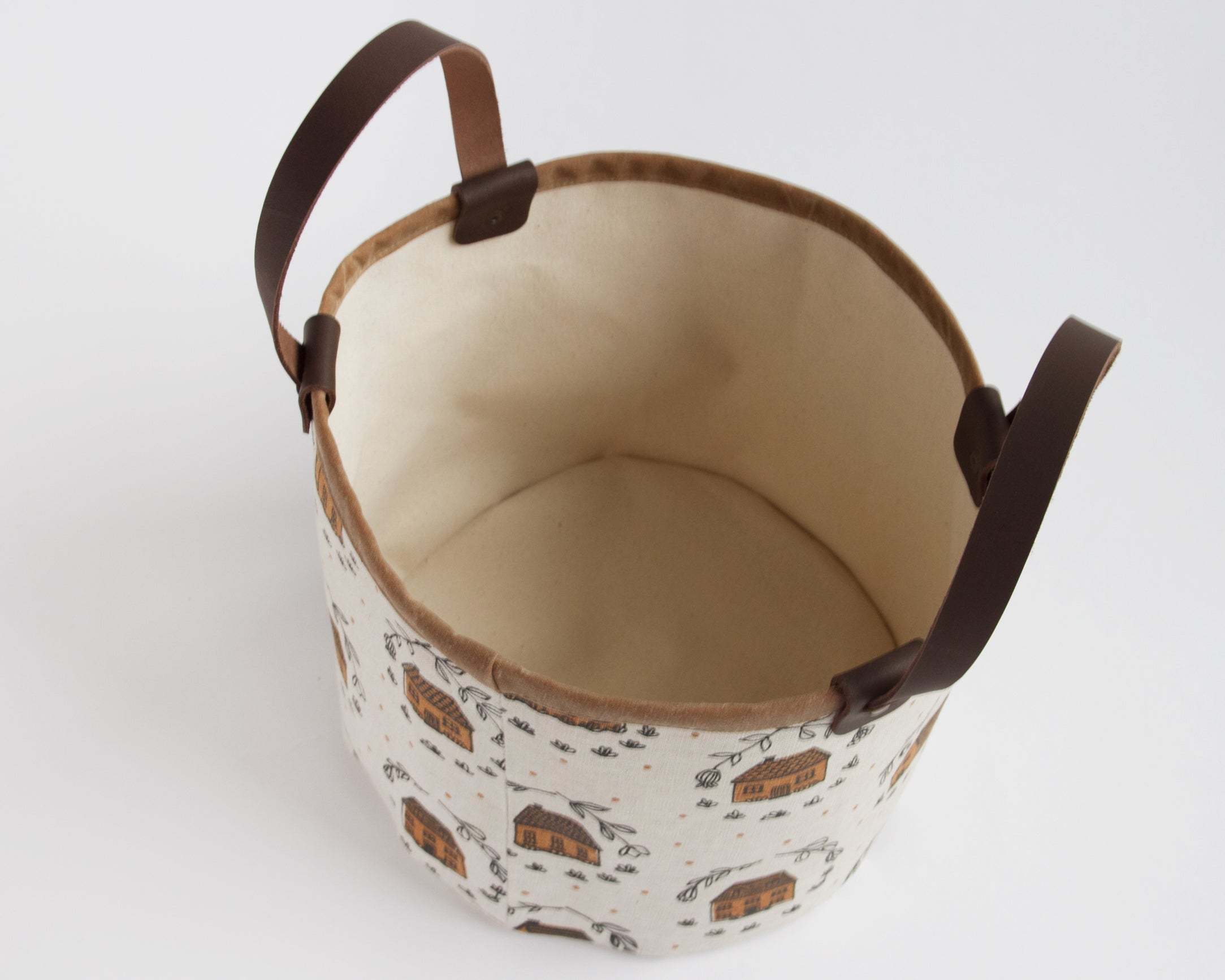 Small Basket - Home - Coral
