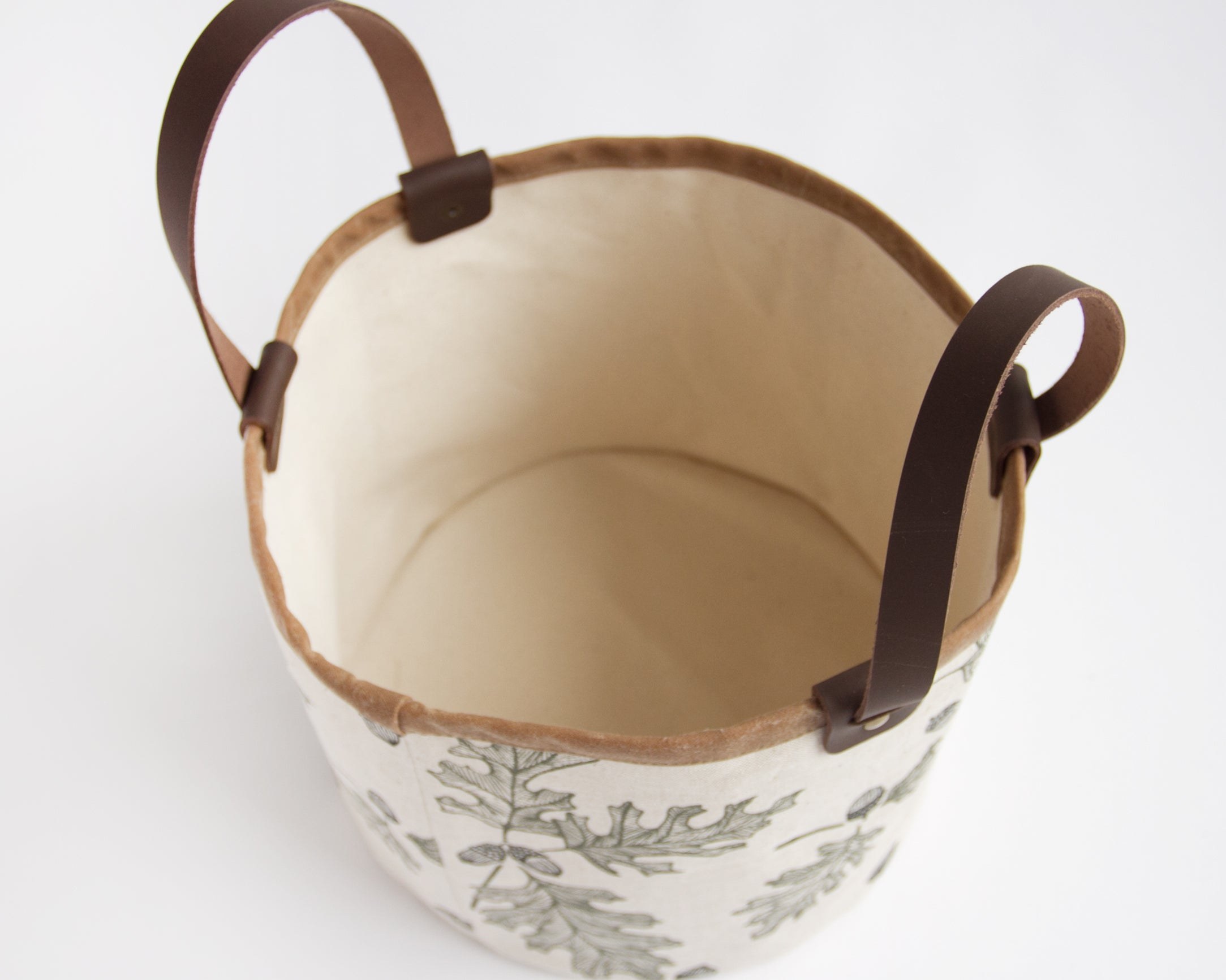 Small Basket - Oak