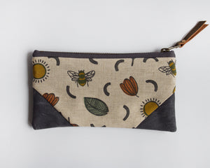 Double-Zipper Pouch - Sunny Day - small