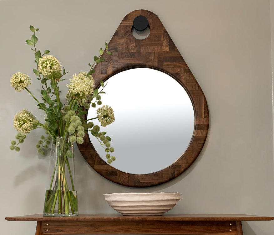 ASPIRE DESIGN AND HOME features the exclusive launch of our Loupe Mirror!