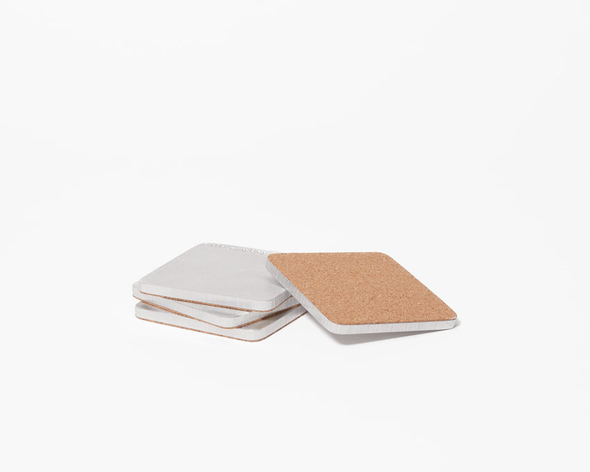 Aluminum Coasters - Set of 4
