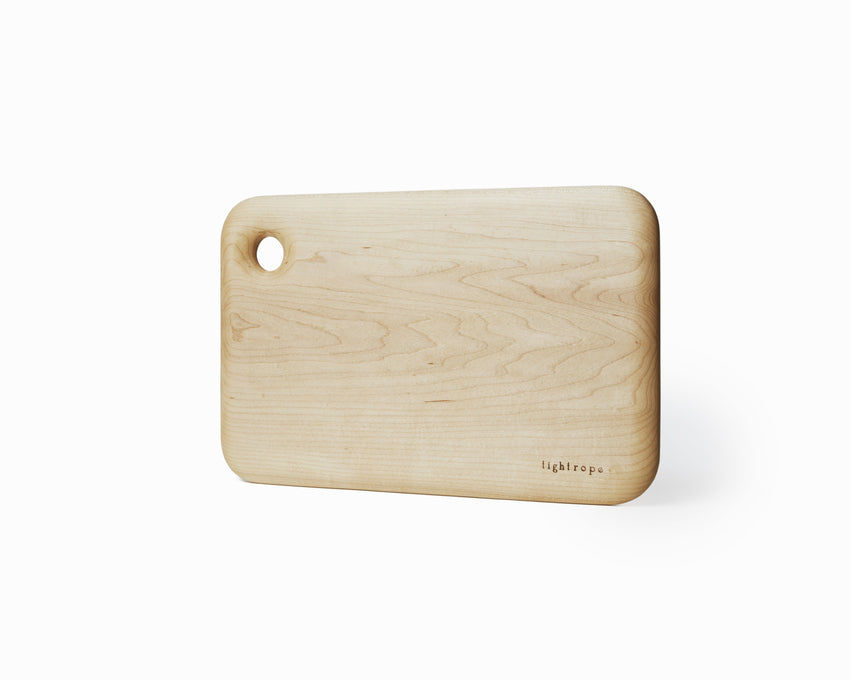 Maple Serving Board Medium Curved Edge