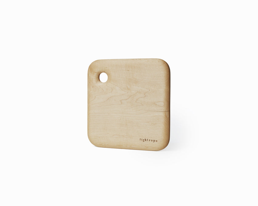 Maple Serving Board Small Curved Edge