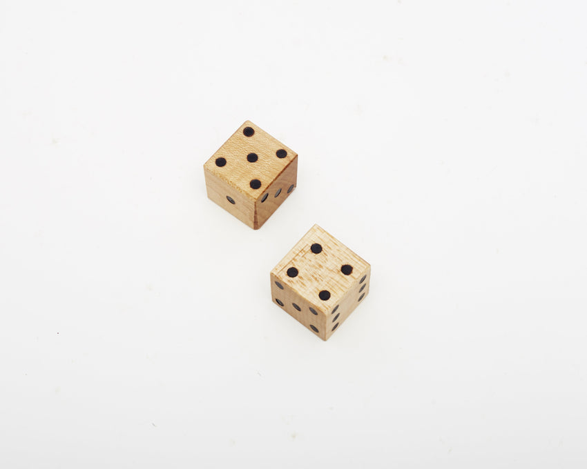 Wooden Dice Maple