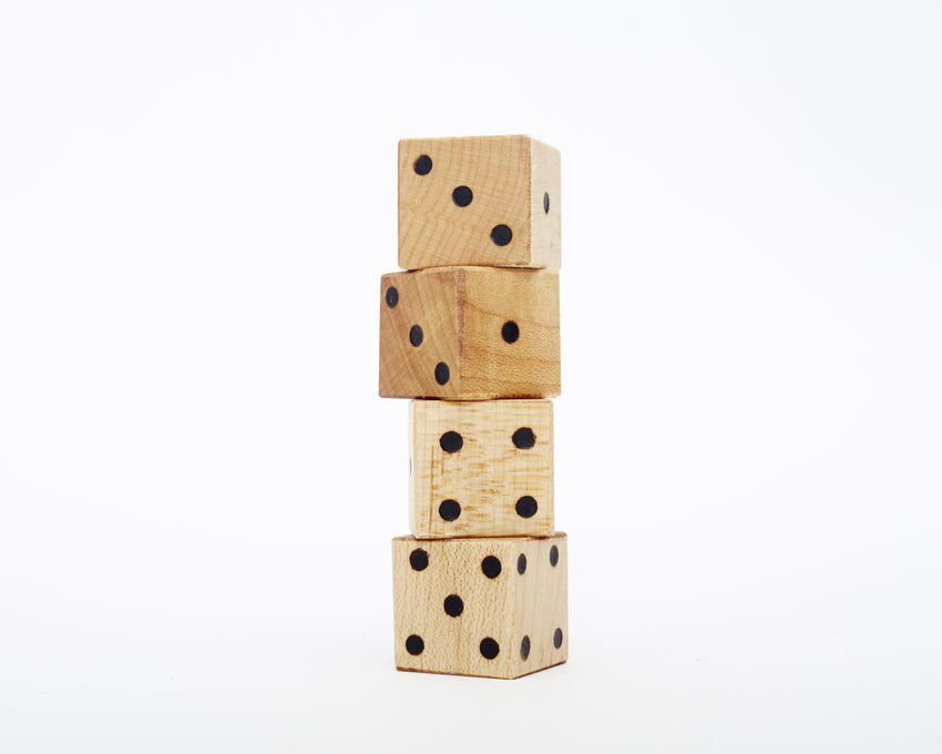 Wooden Dice - Set of 2