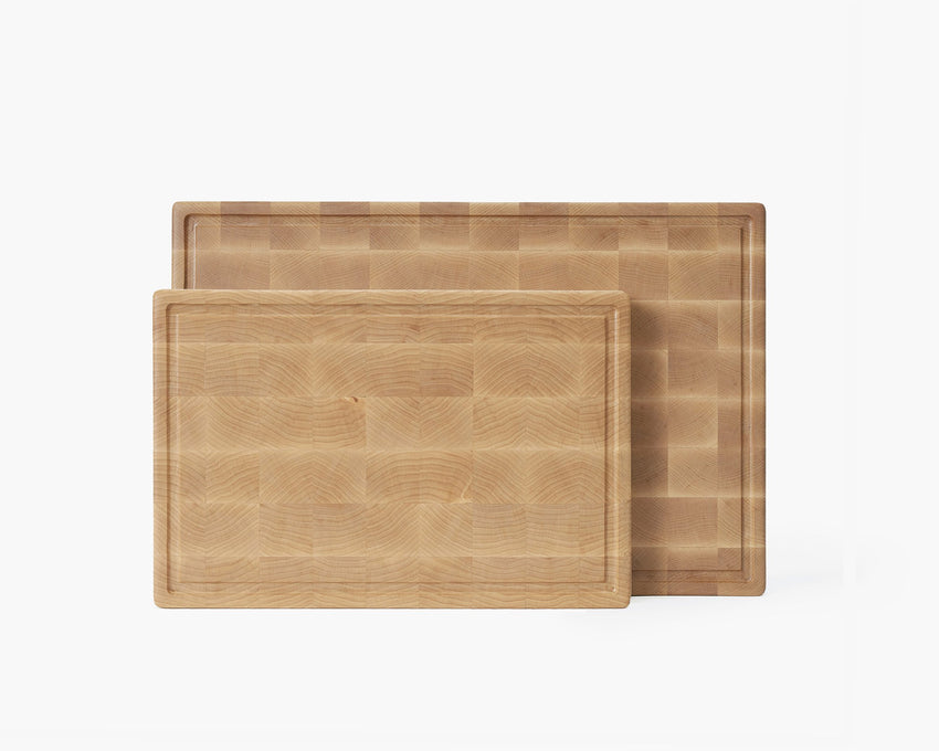 End Grain Cutting Board Set