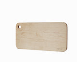 Maple Serving Board Large Flat Edge