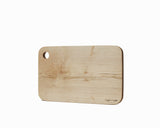 Maple Serving Board Medium Flat Edge