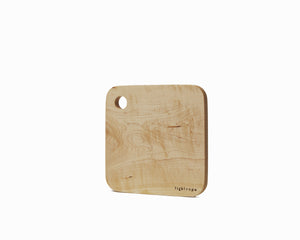 Maple Serving Board Small Flat Edge