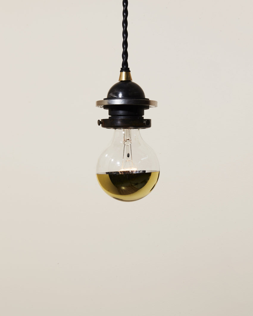 Half Gold Incandescent Bulb