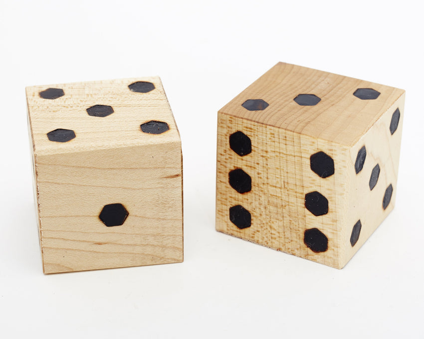 Jumbo Dice Maple