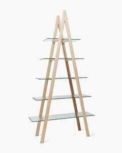 Maple Ladder Shelf