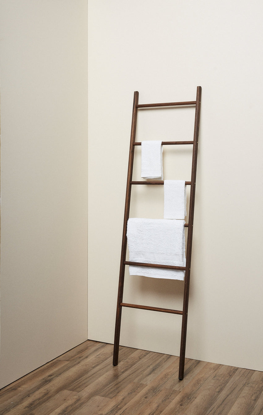 Walnut Wooden Ladder