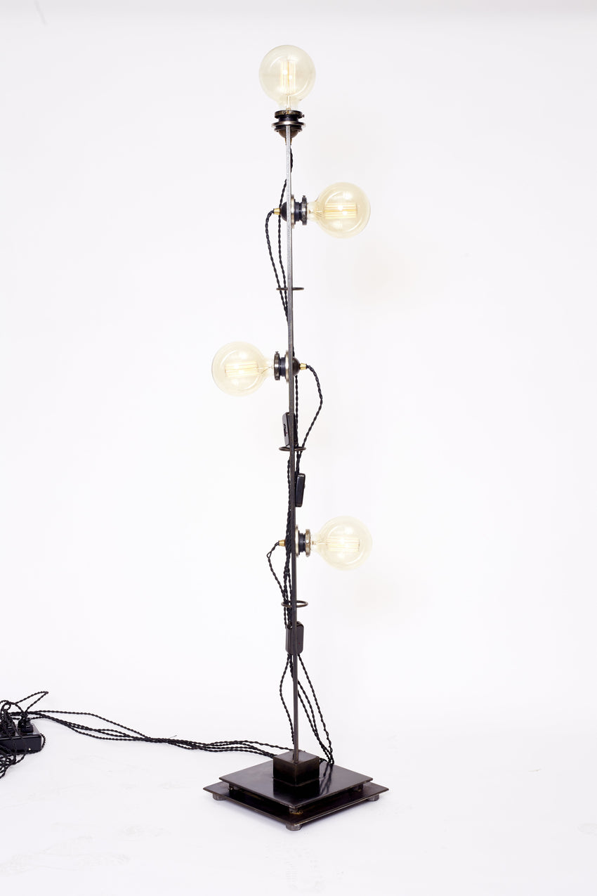 Magnetic Tower 4 Lights with Black Cords