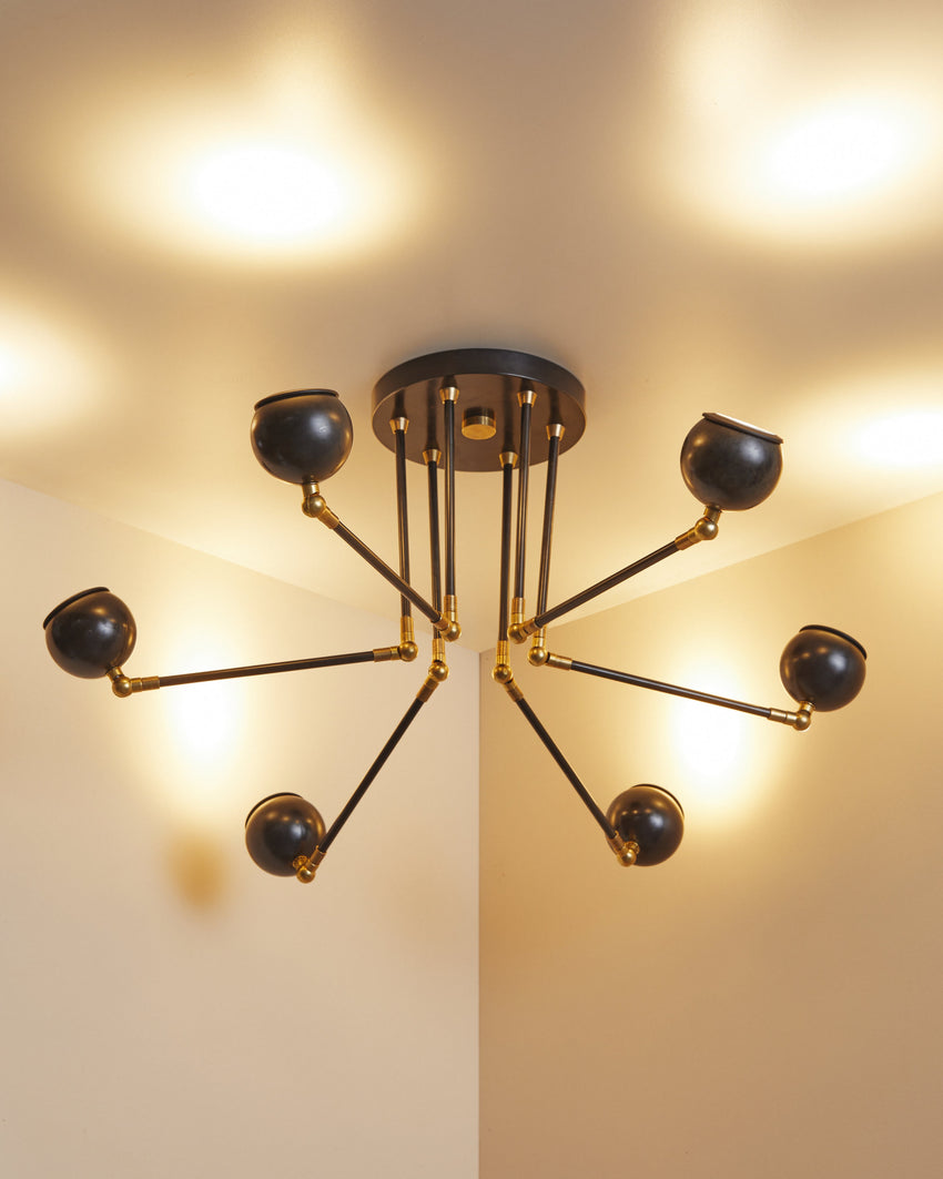 Q-Bot Mini Chandelier