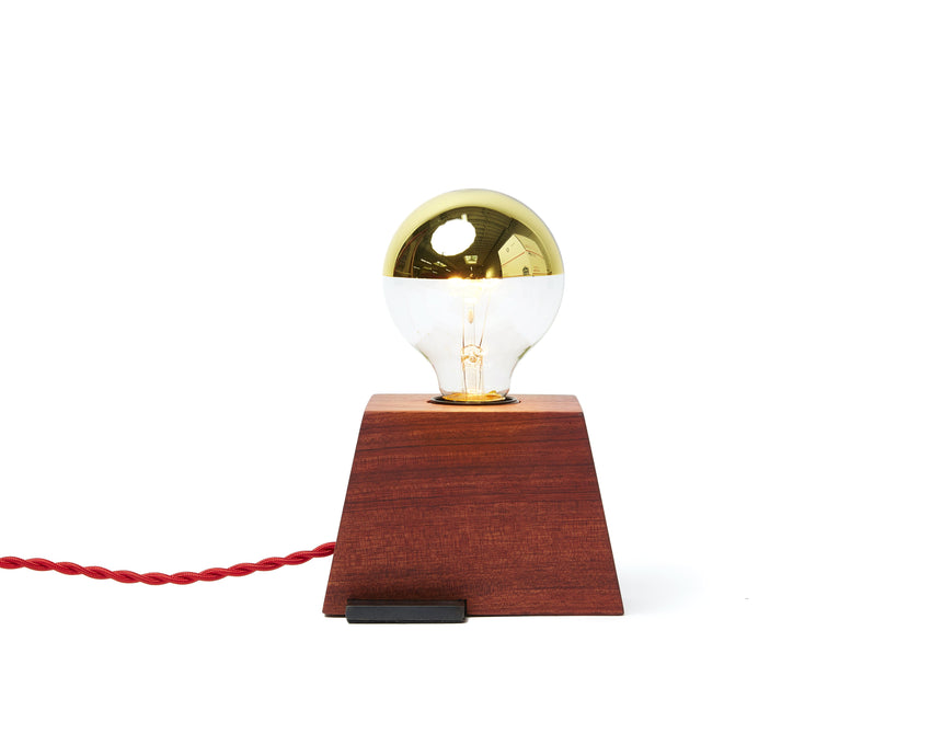 Plank Light Bubinga with Red Cord