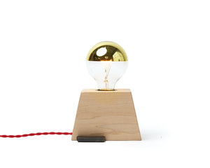 Plank Light Maple with Red Cord