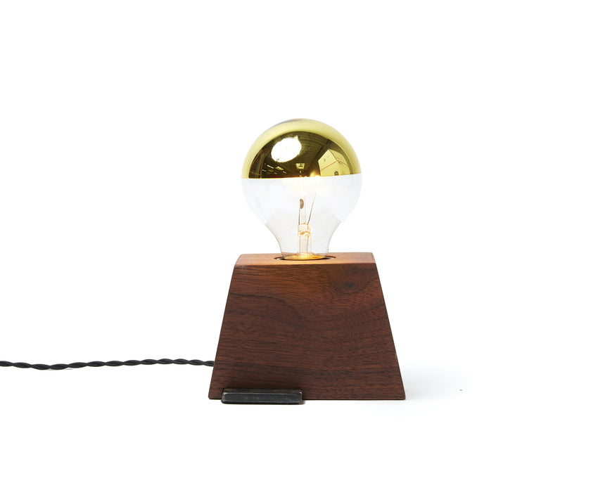 Plank Light Walnut with Black Cord