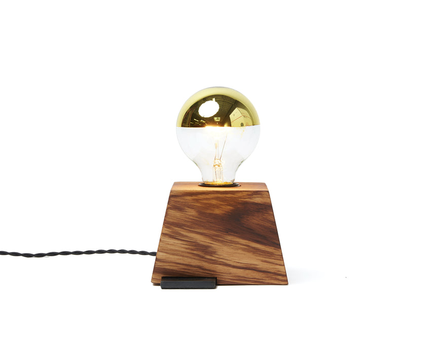 Plank Light Zebrawood with Black Cord