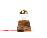 Plank Light Zebrawood with Red Cord