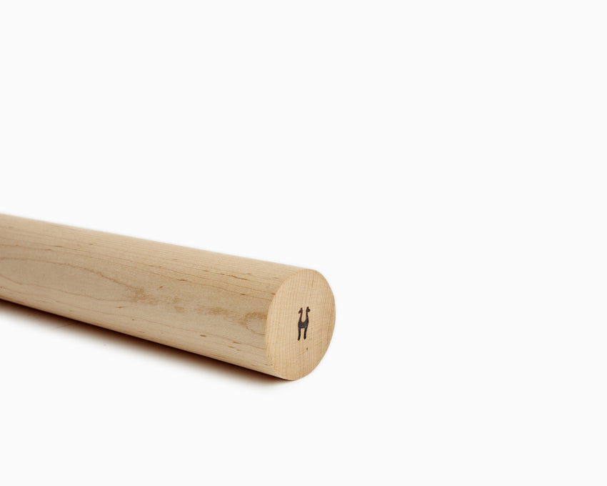 Wooden Rolling Pin Straight Maple Set