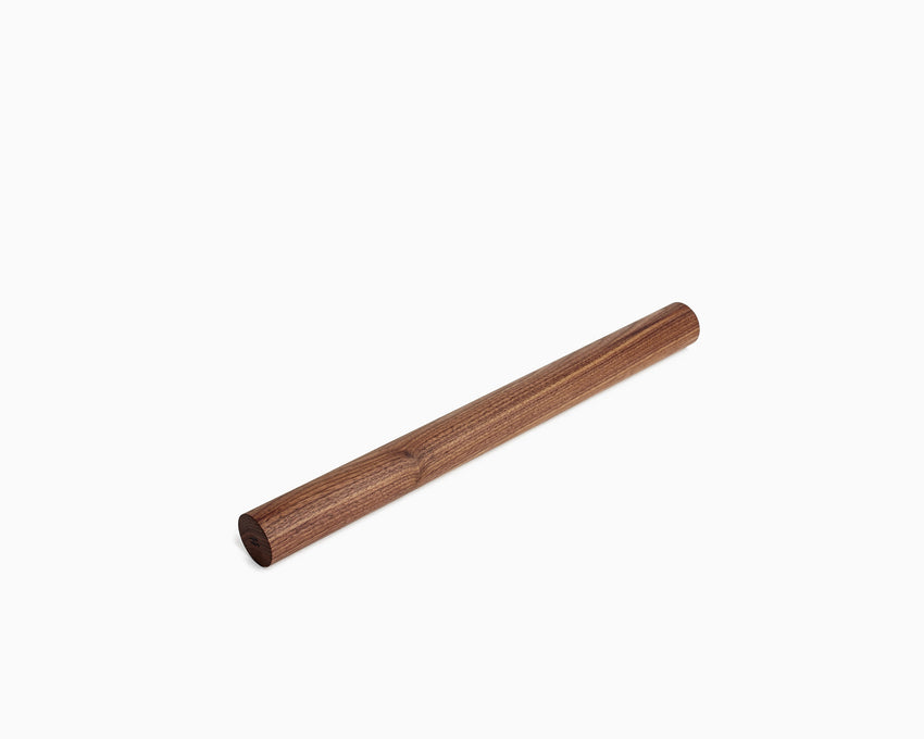 Wooden Rolling Pin Straight Large Walnut