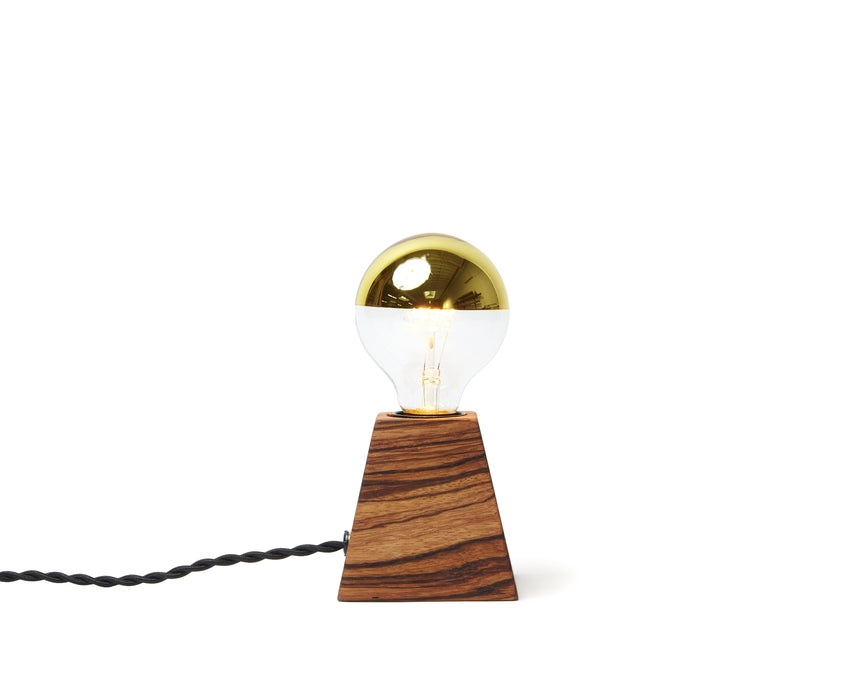 Rook Light Zebrawood with Black Cord