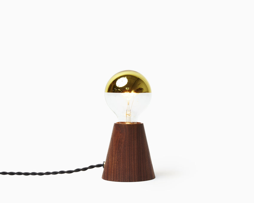 Scape Light Walnut with Black Cord