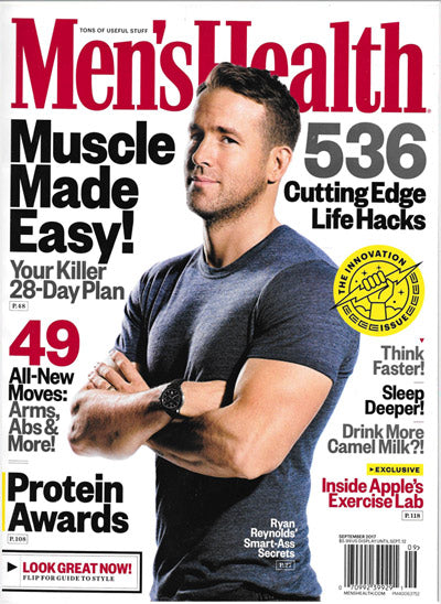 Men's Health Magazine - September 2017 – MPG Sport USA